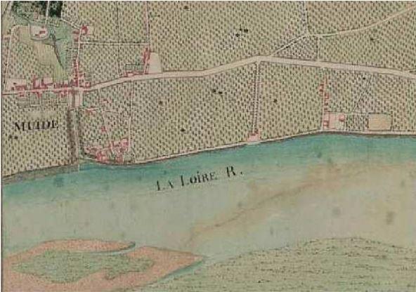 """Muides sur Loire s'appelait Muides avant 1952.Il s'écrivait même sans """"S""""."""