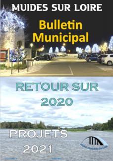 Couverture Bulletin municipal janvier 2021